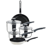 Prestige Everyday 5-Piece Stainless Steel Cookware Set