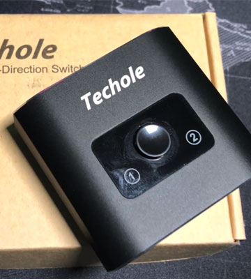 Review of Techole HS305 HDMI Splitter (1 In 2 Out or 2 In to 1 Out)