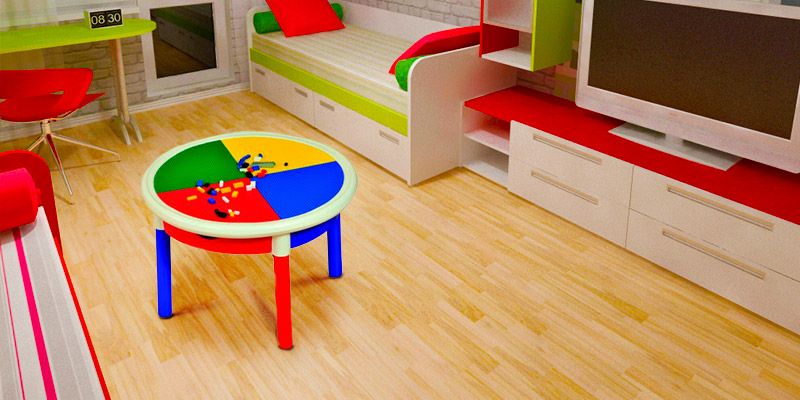 Review of Liberty House Round 4-Drawer Lego building Activity Table
