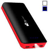 EC Technology Power Bank 22400mAh Power Bank 3 USB Auto IC Output Portable Charge