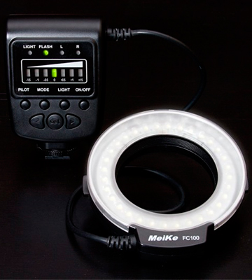 Review of Meike FC-100 LED Ring Flash
