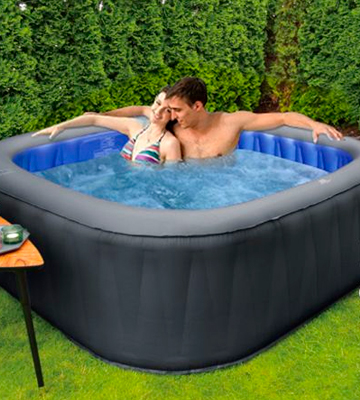 Review of MSPA D-TE06 Tekapo 6 Person Portable Round Inflatable Hot Tub Bubble Spa Inflatable Jacuzzi