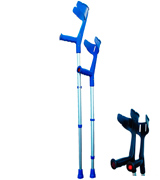 Invacare Magic Twin Strong Adjustable Crutches