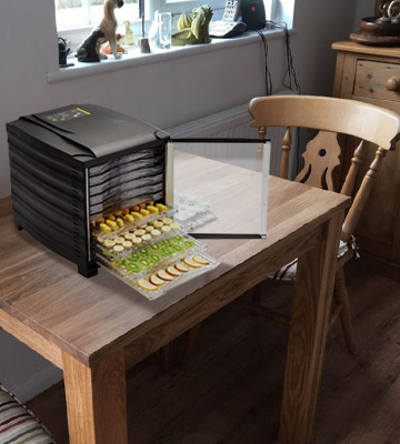 Review of Buffalo 10 Tray Food Dehydrator With Timer And Door