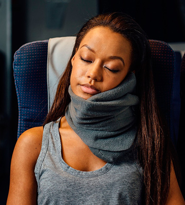 Review of Trtl FBA_BG1-NS-1-2015 Neck Support Travel Pillow