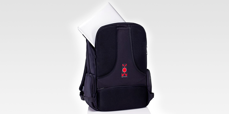 Polaris PLB-01 Laptop Backpack in the use