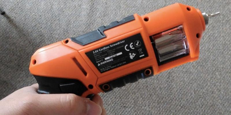 Review of VonHaus 15/072 Electric Screwdriver