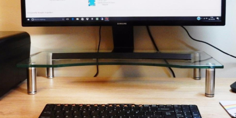 Review of VonHaus 05/078 Monitor Stand for Desks
