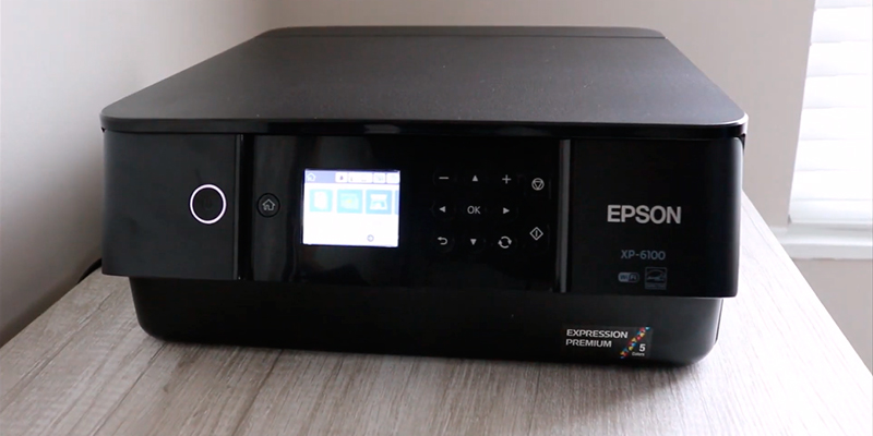Epson XP-6100 Print/Scan/Copy Wi-Fi Printer in the use