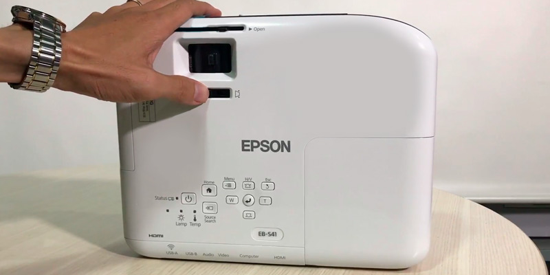 Epson EB-S41 3LCD 3300 Lumens SVGA Display Projector in the use