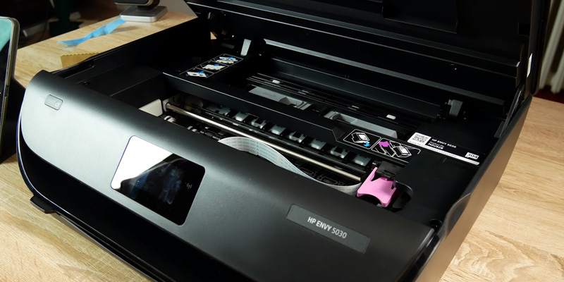 HP ENVY 5030 All-in-One Printer in the use