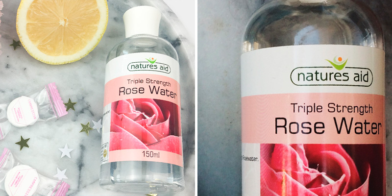 Review of Natures Aid 150 ml Triple Strength Rose Water Gently toner