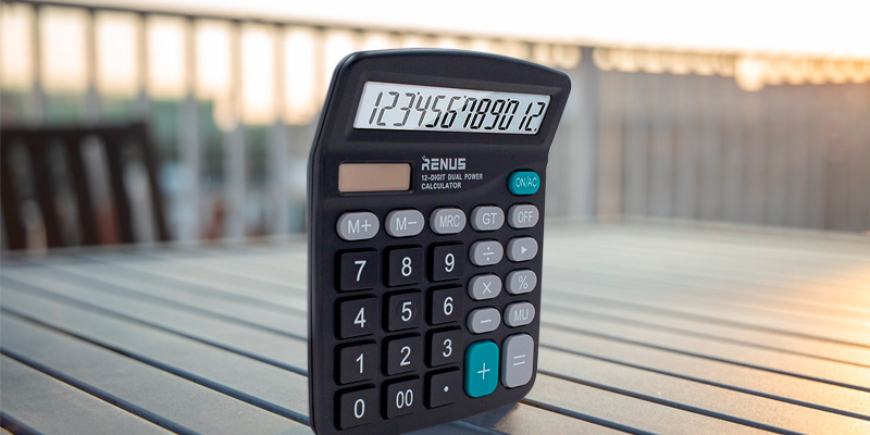 Review of RENUS (BJSQ01) Standard Function Desktop Calculator