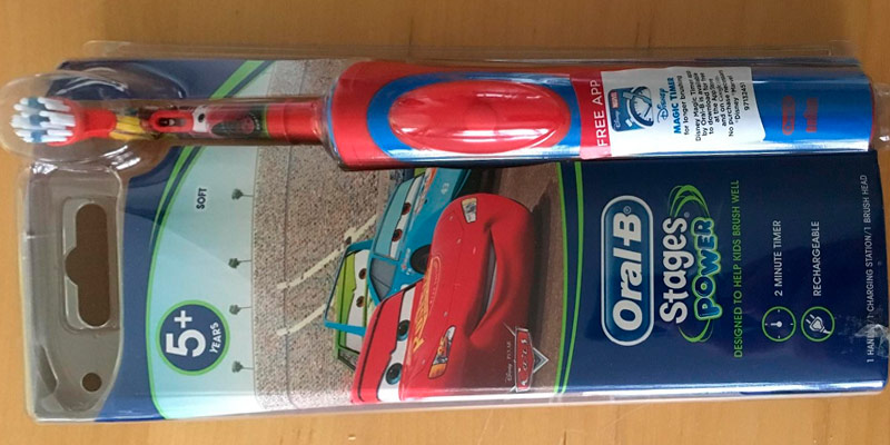 Detailed review of Oral-B Stages Vitality Electric Toothbrush for Kids