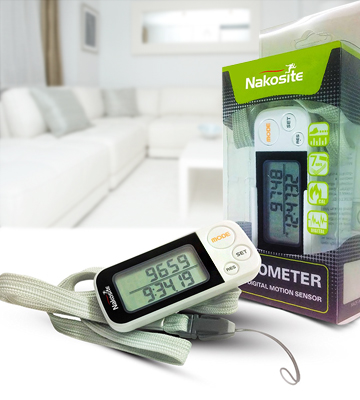 Review of Nakosite 3D Walking Pedometer