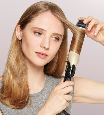 Review of BaByliss 2289U Volume Waves Ceramic Curling Wand, 38mm