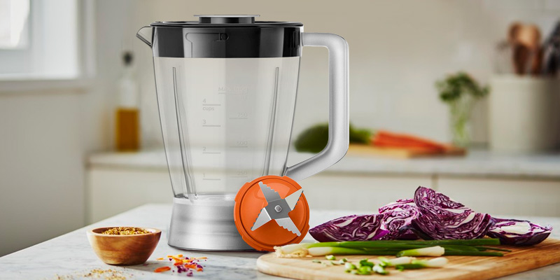 Philips Viva Veggie HR7510/11 Food Processor in the use
