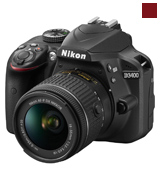 Nikon D3400 + AF-P 18-55VR Digital SLR Camera & Lens Kit