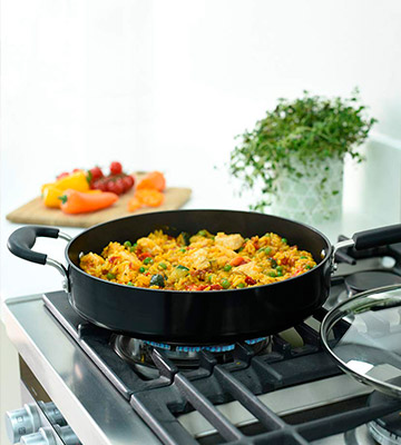 Review of ProCook 28cm Gourmet Non-Stick Induction Saute Pan with Lid
