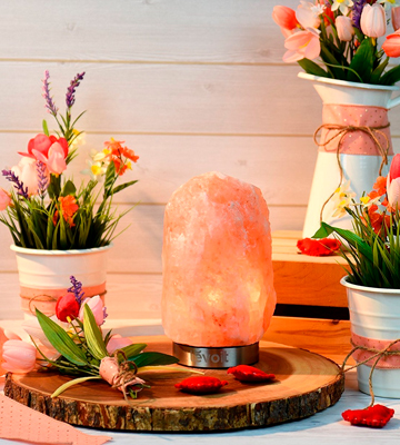 Review of Levoit Kyra Himalayan Salt Lamp Hand Carved Natural Therapeutic Salt Rock Crystal Lamps