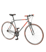 Falcon Men's Forward Fixie-Grey/Red/Black Bike