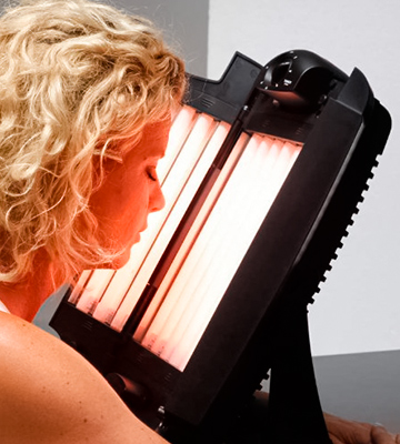 Review of Eurosolar Fights Wrinkles 2015 Red Light Therapy Collagen Lamp