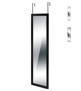 DripexFurniture Door Hung Mirror Full Length Multifunctional Wall Mounted Mirror Toughened Glass