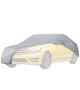 PRÜUF PRU-010 Heavy Duty Executive Car Cover | 3 Under Car Straps | Fully Waterproof | Fully Windproof | Breathable | Stormproof | Developed for Extreme Conditions | Different Sizes Available | 5-Year-Guarantee