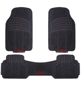 XtremeAuto Heavy Duty Rubber Front & Rear Car Mats