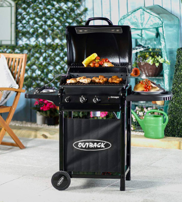 Review of Outback Omega 250 2 Burner Gas BBQ