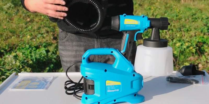 Review of Sitemate SM700 HVLP Electric Fence Spray Gun Paint Sprayer