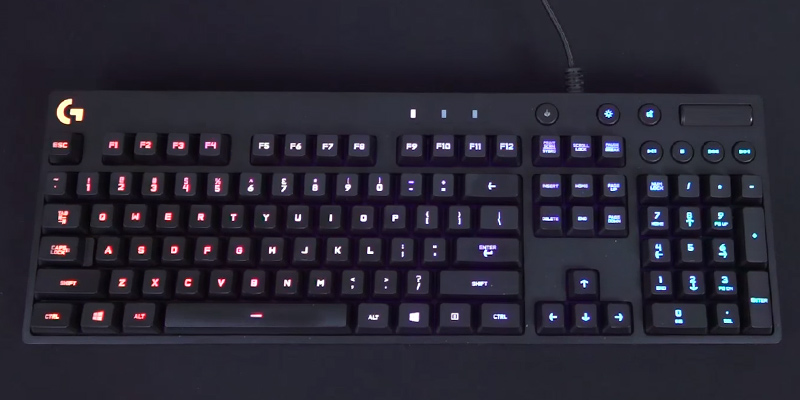 Review of Logitech G810 (920-007744) Orion Spectrum Mechanical Gaming Keyboard
