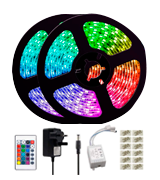 L8star 10M LED RGB Strips Lights with Bluetooth Controller