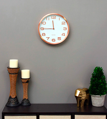 Review of Karlsson Clock White and copper