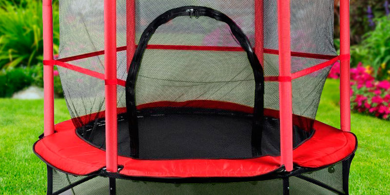 Review of Beyondfashion Junior Kids Trampoline (p8032) Outdoor Activity Fun With Safety Net
