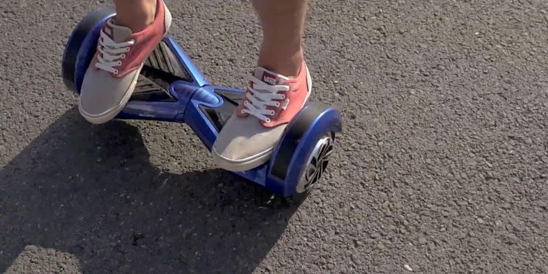 "Review of Bluefin 8"" Drifter Swegway Hoverboard with Built-in Bluetooth Speakers and Carry Bag"