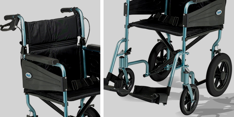 Review of Days Escape Lite Attendant Aluminium Wheelchair