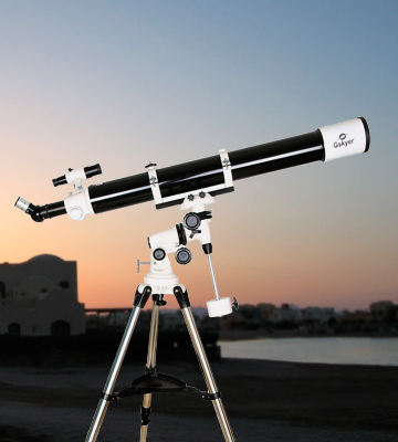 Review of Gskyer EQ80900 Astronomy Instruments PowerSeeker Telescope