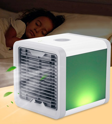 Review of GESUNDHOME White&Grey Personal Air Cooler