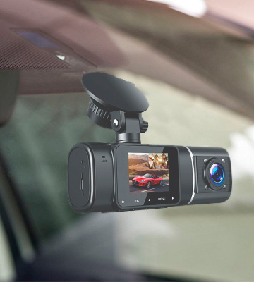 Review of Toguard CE41 1080P Dual Car Camera with Night Vision