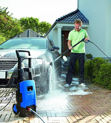Review of Nilfisk C110 4-5 X-Tra Pressure Washer with 1400 W Motor
