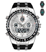 SPOTALEN Mens Digital Sports Watch Military Waterproof Analogue Watch