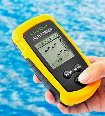 Review of Fei Fishfinder Sonar Sensor Fishing Finder