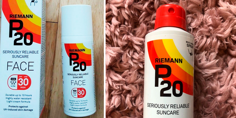 Review of Keyline Brands P20 Riemann SPF30 Face Sun Cream