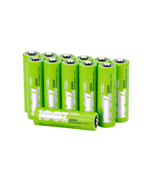 100%PeakPower AA Pack of 12 Rechargeable 2300mAh