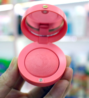 Review of Bourjois 34 Rose D'or Little Round Pot Blusher