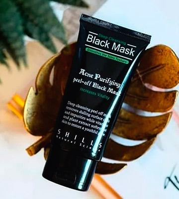 Review of SHILLS Original Peel Off Black Mask With Activated Charcoal