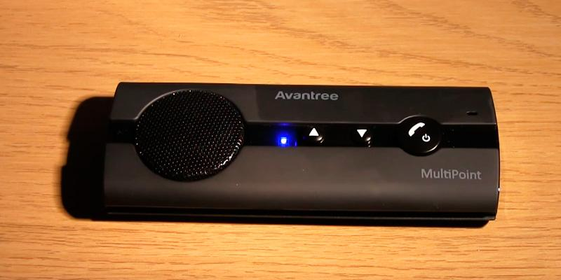 Review of Avantree 10BP V4.0 Multipoint Bluetooth Handsfree Visor Car Kit