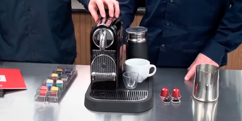 Review of Nespresso Citiz and Milk Coffee Machine