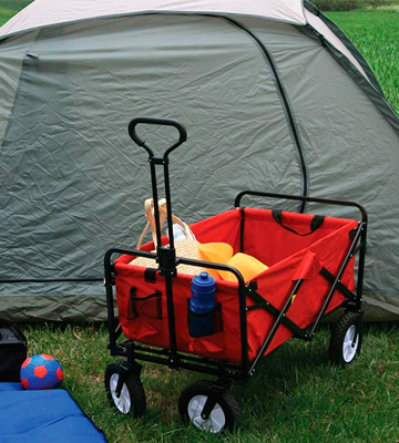 Review of LIFE CARVER Collapsible Portable Folding Garden Cart